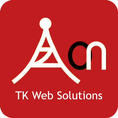 TK Web Solutions logo